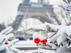Погода в Париже зимой